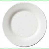 Тарелка D-20см белая с подставкой 1/36