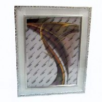 Ф/рамка пластик (6201A-100В) 40*60бел60мм