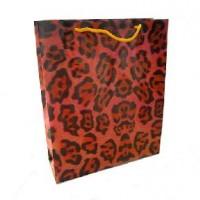 Пакет подар PVC 26*32*10см ГЕПАРД(1/12/840)4диз10790-2