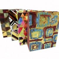 Пакет подар PVC 32*44*11см ЦВЕТЫ (1/12/480)4диз10790-10