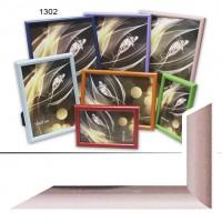 Ф/рамка пластик (1302-183) 21*30 розов(30)