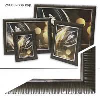 Ф/рамка пластик (2906C-336) 30*45кор (20)PVC