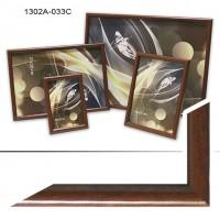 Ф/рамка пластик (1302-033) 30*40 коричневый