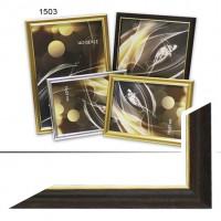 Ф/рамка пластик  10*15 (1503)коричневый(70)