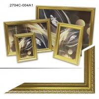 Ф/рамка пластик (2704-004) 15*21 золото(40)