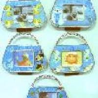 Ф/рамка  МИНИ-магнит пластик СУМОЧКА 303 (1/24/480)