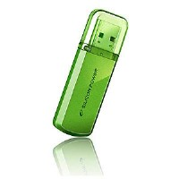 USB flash drive 16Gb SiliconPower Helios 101 16Gb Green