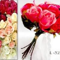 FF/Букет Роз из 12шт. 32см (0184-SZMLM-2) 6 цветов