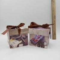 "Коробка подар д/кружки ""К празднику"" с окномP54-M"