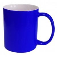 Кружка хамелеон синяя мат 1/12/36D8,2 см H9,5 см