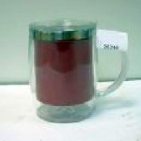 Кружка хамелион пластик с метал колбой красная(48)в коробкеHT-M041A HR