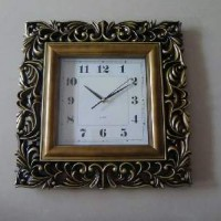 Часы пластик АМПИР квадрат45*45cm(6)5828