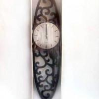 Часы пластик РЕЗНЫЕ ОВАЛ 57см(30)943 АКЦИЯ