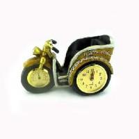 "Часы-барометр + подставка п/бутылку ""МОТОЦИКЛ""YZM1041A(24)"