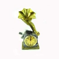 "Часы-барометр  ""ГРАММОФОН""YZM1042(12)"