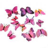 Набор магнитов   Бабочки M1  из 12 шт
