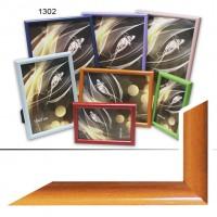 Ф/рамка пластик (1302-204) 10*15 оранж(48)