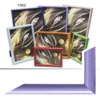 Ф/рамка пластик (1302-184) 10*15 сиренев(48)