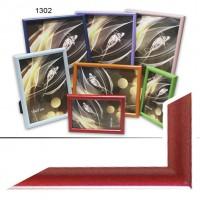 Ф/рамка пластик (1302-200) 15*21 красный(40)