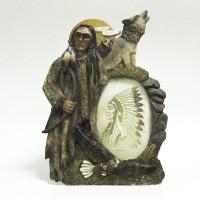 Ф/рамка керамика  10х15 Индеец 13057(36)