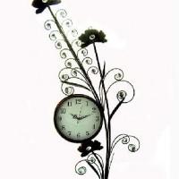 Часы ВИНТАЖ Цветок металл(6)HX2-659
