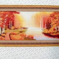 Алмазная мозаика Пейзаж 158*58  8572 Частичная выкладка
