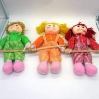 """Панно текстильное  настенное """"Кукла-кормашки"""" для мелочей 35146-7(200)"""