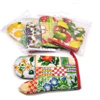 Набор подарочный текстильный из 2-х предметов ( 2 Прихватки) 16036-4