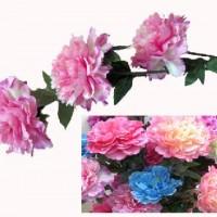 FF/Букет  искус.цветов   1м Пионы 3 шт  0420-4