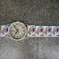 """Часы настенные """"РУЧНЫЕ"""" 5фото 10*15белый(8)K18-1"""