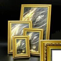 Ф/рамка пластик (4210-139) золото 30*40 42мм(10)