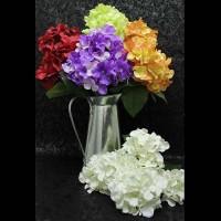 Цветок искусственный 0 420-8 ГОРТЕНЗИЯ