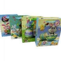 Пакет подар с апликацией Детский   19*24*8 см  (1/12)  4цвета  2628
