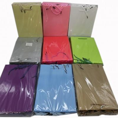 Пакет подар 23*17*5см БАНТИК(1/12/1200)4диз101