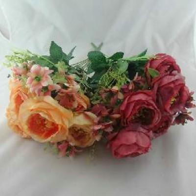 FF/Букет Роз из 9шт. 32см (A15-017) 2 цвет